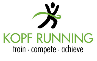 Kopf Running Logo - Green